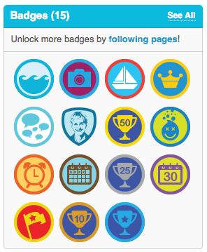 Eigen badges op Foursquare
