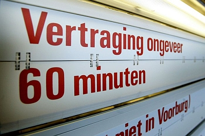 NS vertraging